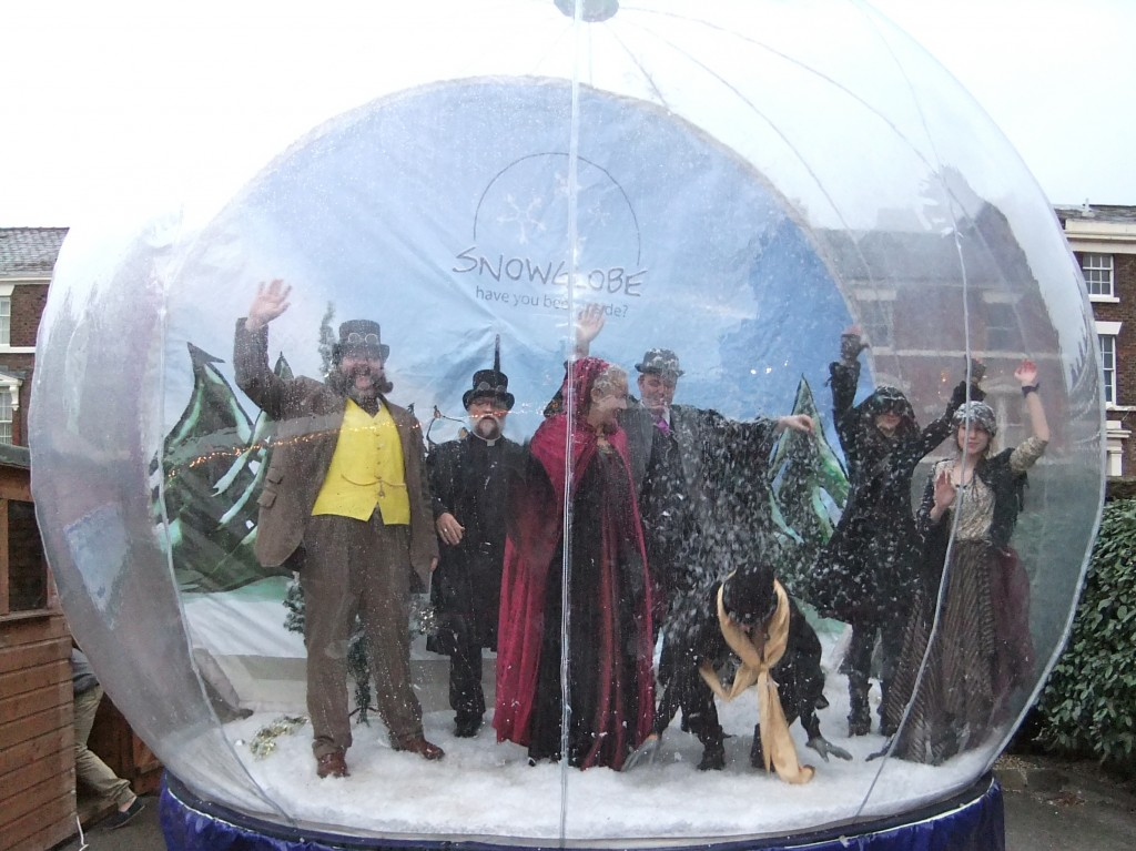 Illumination Day Blackburne House Snow Globe Dismembered Empire
