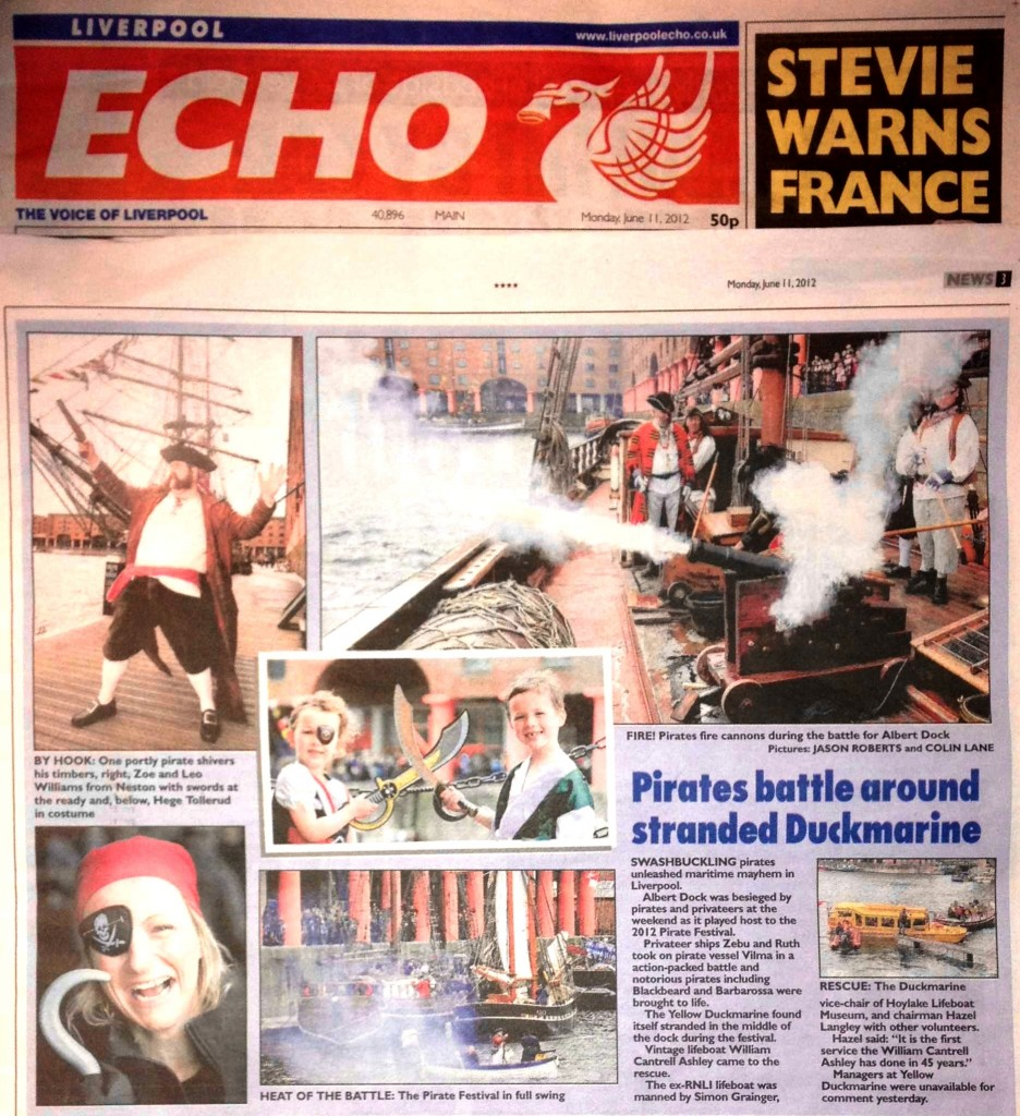 Mycroft Milverton Pirate Liverpool Echo