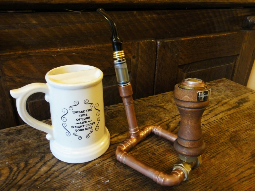 Heath Robinson Re-turns Electronic Pipe Epipe E-Pipe Posable copper pipe tubing plumbing pipe pepperpot