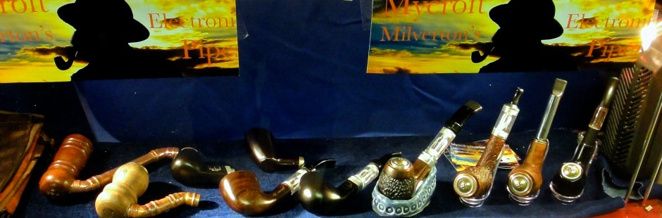 Mycroft Milverton's Magnificent Electronic Pipes Epipe Electric Pipe E-Pipe